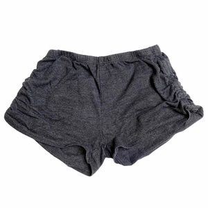 Ruched Side Shorts Girls 6 Chasor Gray
